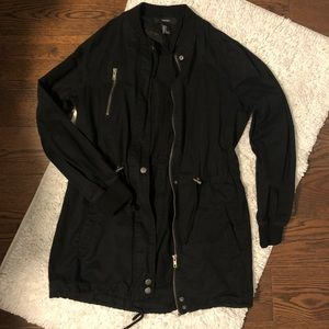 Black Utility Jacket- Women's
